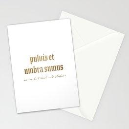 Pulvis Et Umbra Sumus Stationery Cards