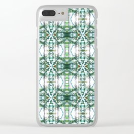Pattern 48 Clear iPhone Case