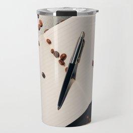 Writing and Coffee. Piece #1 Travel Mug