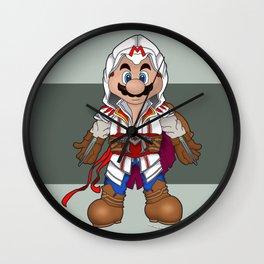 Mario's Creed Wall Clock