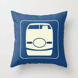 Shinkansen Throw Pillow
