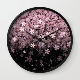 Cherry blossom #11 Wall Clock