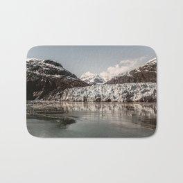 Margerie Glacier Alaska Bath Mat