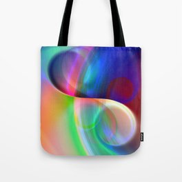 color whirl -20- Tote Bag