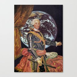 King Charles in Outer Space Canvas Print