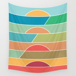 4 Degrees Wall Tapestry