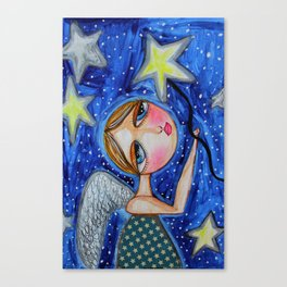 TWINKLE TWINKLE LITTLE STAR Canvas Print