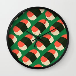 Spam Musubi Wall Clock