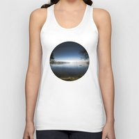 frame Tank Tops featuring The frame by HappyMelvin