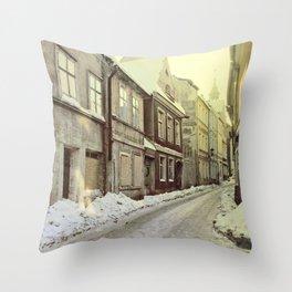 Zielona Gora Throw Pillow