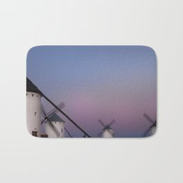 Don Quixote sunset Bath Mat