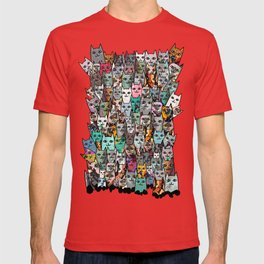 Gemstone Cats T-shirt