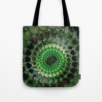 irish Tote Bags featuring Irish Moss by ACKelly
