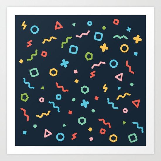 Geometry Art Print