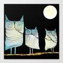 Owls by brontosaurus