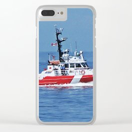 Patrol Boat Clear iPhone Case