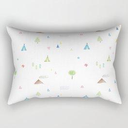 Outdoor icons Rectangular Pillow