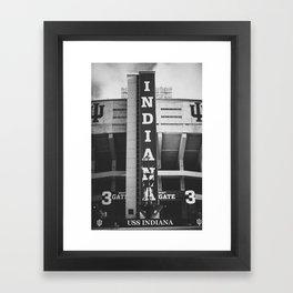 Indiana University Framed Art Print