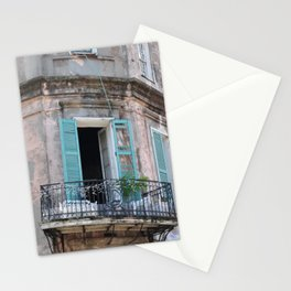 New Orleans French Quarter Balcony Stationery Cards