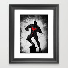 Beyond the dark night Framed Art Print