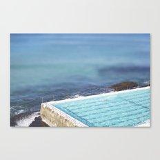 Blue Iceburgs Canvas Print