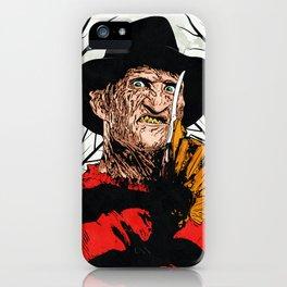 "Freddy Krueger ""SLEEP KILLS!"" iPhone Case"