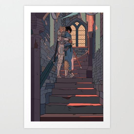 Secret and Sad farewell by cassandrajean