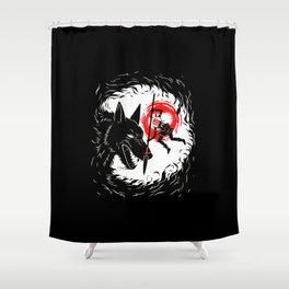 Anime Spirit Shower Curtain