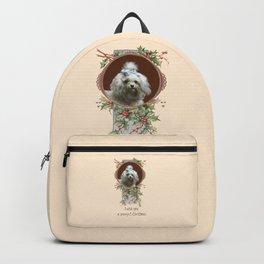 DOG LOVER CHRISTMAS GREETINGS Backpack