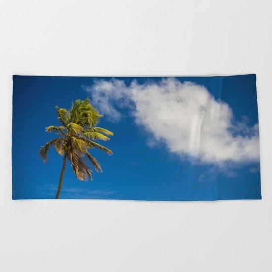 One Tree Beach Towel