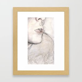 And What Framed Art Print