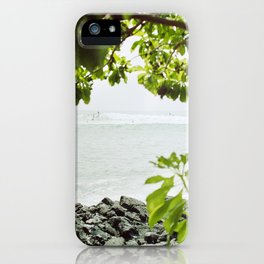Sunday Surf iPhone Case