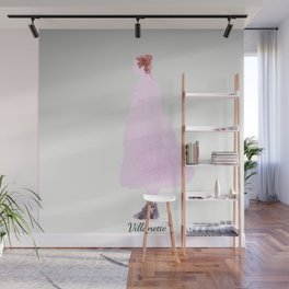 Killing Eve -Villanelle- Pink Dress - watercolor Wall Mural