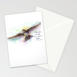 Natasha's Skylark-Stevie Nicks Quote Stationery Cards