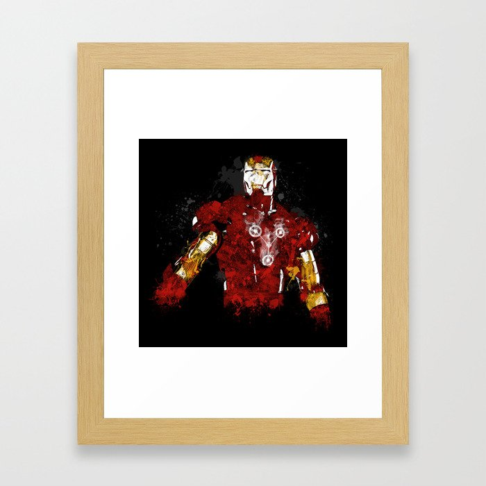 Iron Flux Framed Art Print