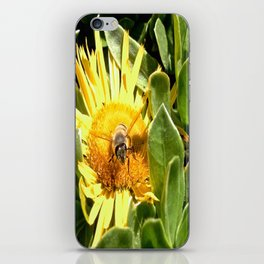 A bee eager to fly iPhone Skin