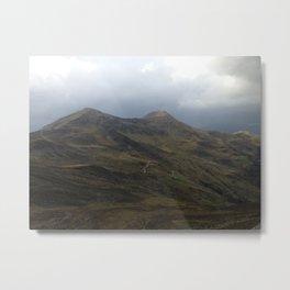 Mountains over Mountains Metal Print