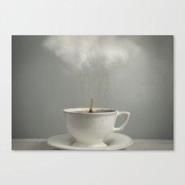 Raining Tea Canvas Print