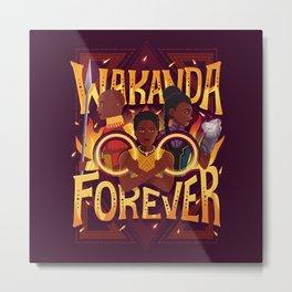 Women of Wakanda Metal Print