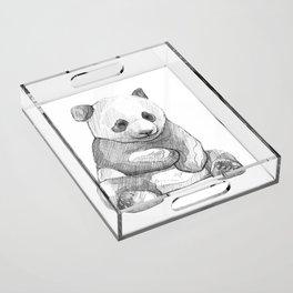 Giant Panda Acrylic Tray