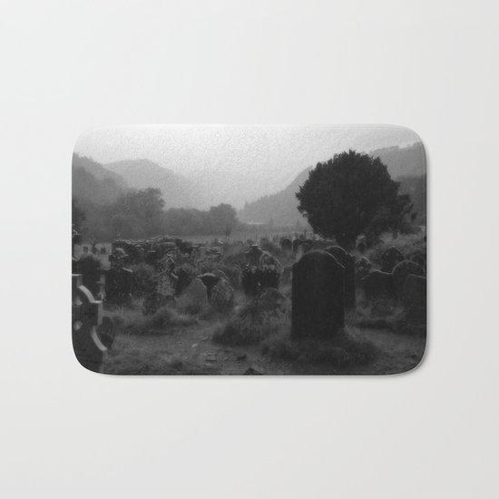 Foggy Graveyard...   Halloween Art   Bath Mat