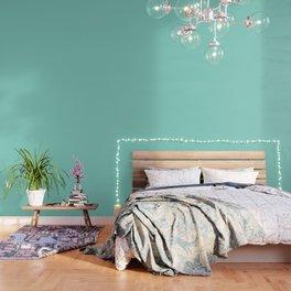 Seafoam Blue Green Wallpaper