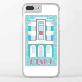 Miami Landmarks - Hotel Webster Clear iPhone Case