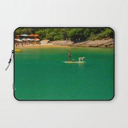 Beach in Buzios, Rio de Janeiro (Brasil) Laptop Sleeve