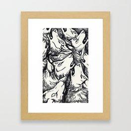 Chorus Framed Art Print