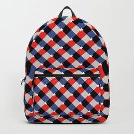 Patriotic Gingham Backpack