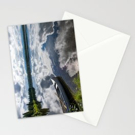 Tranquility At Its Best - Alaska Stationery Cards