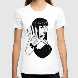 Sorry, I left my social skills at home (white) T-shirt