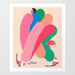 Fresh Foot Forward Art Print