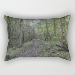 The Old Railway Line 2 Rectangular Pillow